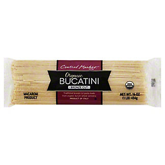 Central Market Organic Bucatini Bronze Cut Pasta,16 OZ