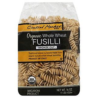 Central Market Organic Whole Wheat Fusilli Bronze Cut Pasta,16 OZ