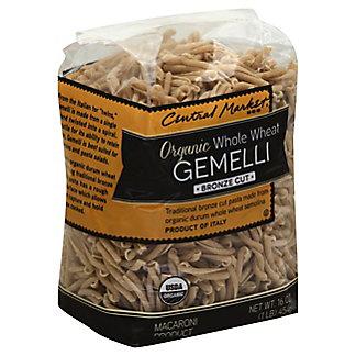 Central Market Organic Whole Wheat Gemelli Bronze Cut Pasta, 16 oz