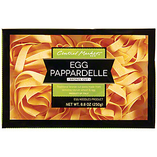 Central Market Egg Pappardelle Bronze Cut Noodles, 8.8 oz