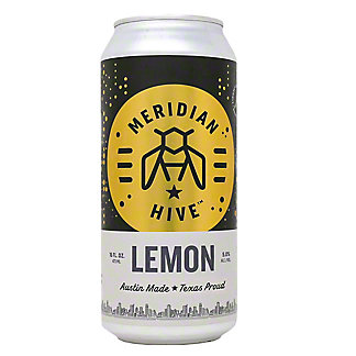Meridian Hive Lemon Draft Mead, 19.2 oz