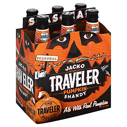 The Traveler Beer Co. Jack-O Traveler Pumpkin Shandy,6 - 12oz Bottles