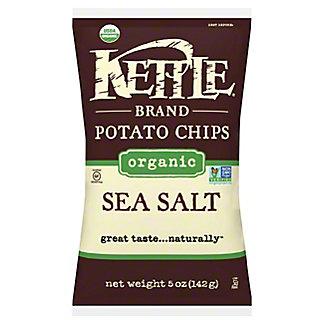 Kettle Potato Chips Organic Sea Salt,5.00 oz