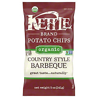 Kettle Kettle Organic BBQ Potato Chips,5.00 oz