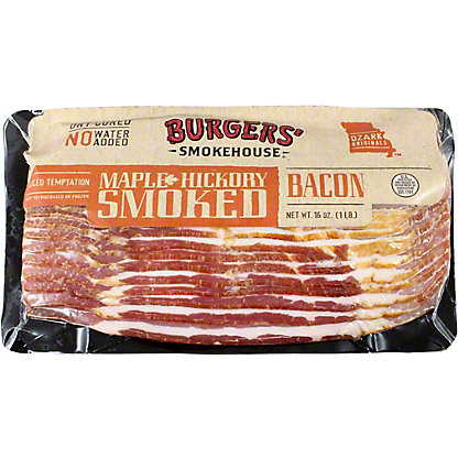 Burgers Original Maple Country Bacon, 16 OZ