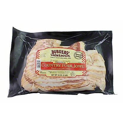 CENTRAL MARKET Burgers Original Brown Sugar Cured Jowl Bacon,16 OZ