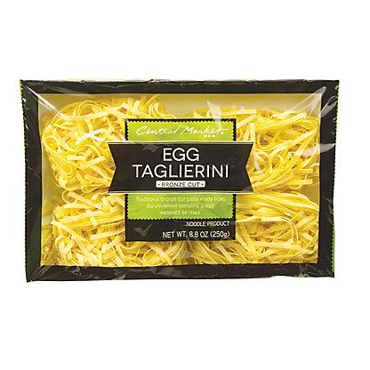 Central Market Egg Taglierini Bronze Cut Noodles, 8.8 oz