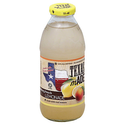 Texas Made Fredericksburg Peach Lemonade,16 OZ