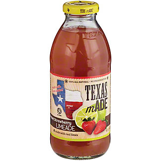 Texas Made Strawberry Limeade,16 OZ