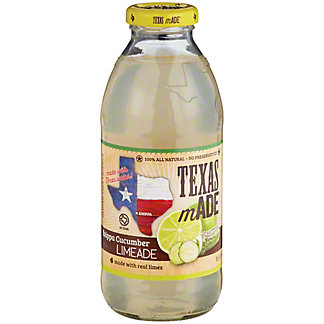 Texas Made Knippa Cucumber Limeade,16 OZ