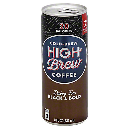 High Brew Coffee Dairy Free Black & Bold,8 oz