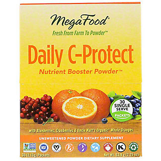 Megafood Daily C-Protect Nutrient Boost Powder Packets  , 30 ct