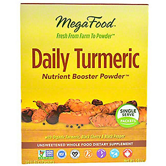 Megafood Daily Turmeric Nutrient Booster Powder Packets, 30 ct