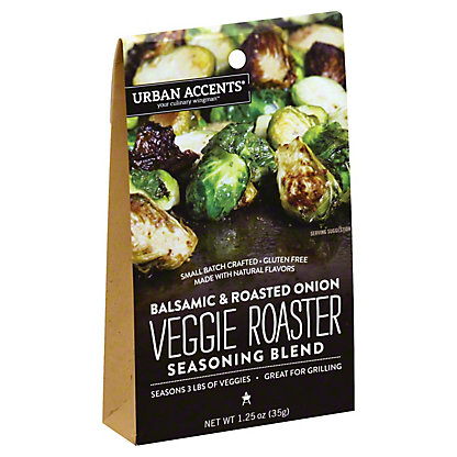 Urban Accents Veggie Roaster Balsamic & Roasted Onion, 1.25 oz