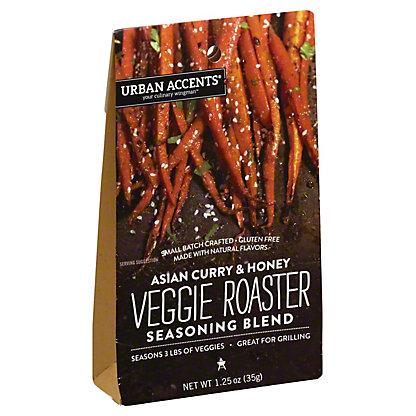Urban Accents Veggie Roaster Asian Curry & Honey, 1.25 oz
