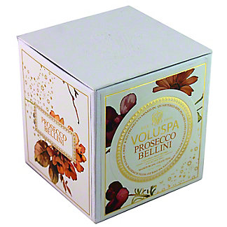 VOLUSPA Voluspa Box Candle Prosecco Bellini, 12 OZ