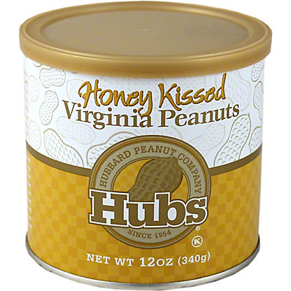 HUBS Honey Kissed Peanuts, 12 oz