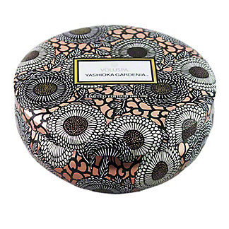 VOLUSPA Voluspa 3 Wick Tin Yashioka Gardenia,EACH
