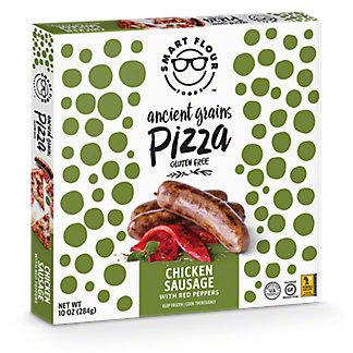 Smart Flour Foods Chicken Sausage Pizza, 10.2OZ