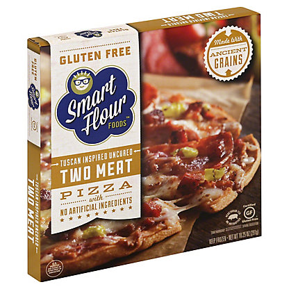 Smart Flour Foods Tuscan Inspired Two Meat Pizza, 10.2OZ
