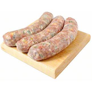 Central Market Jalapeno-Bacon-Cheddar Pork Sausage, LB