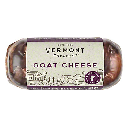 Vermont Creamery Fresh Goat Cheese - Cranbery Orange & Cinnamon,4 OZ