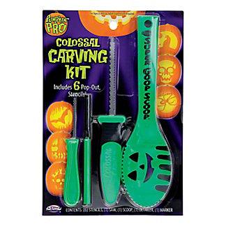 Fun World Pumpkin Pro Pumpkin Pro Colossal Carving Kit, 10 PC