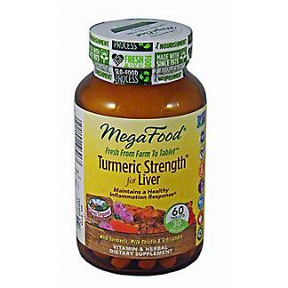 MEGAFOOD Tumeric Strength For Liver, 60 T