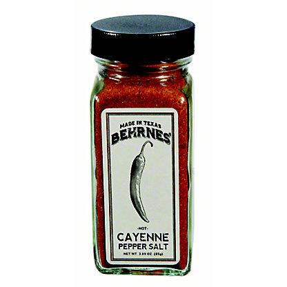 Behrnes' Cayenne Pepper Salt, 3 oz