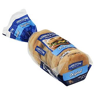 Cobblestone Bread Co. Original Bagels,20 OZ