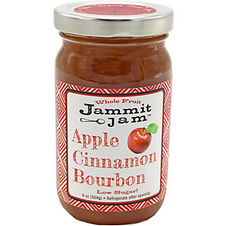Jammit Jam Apple Cinnamon Bourbon Whole Fruit Spread,8 OZ