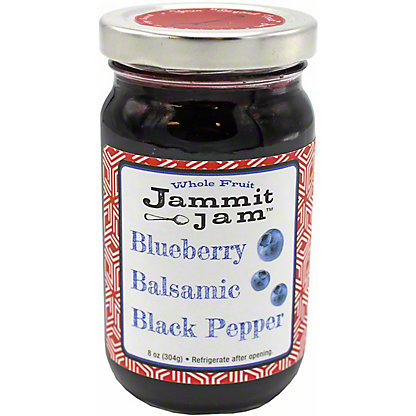 Jammit Jam Blueberry Balsamic Black Pepper,8.00 oz