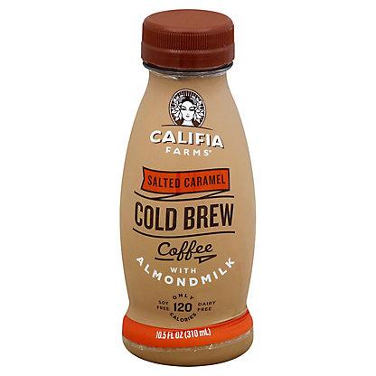 CALIFIA FARMS Salted Caramel Iced Coffee With Almond Milk, 10.5 oz