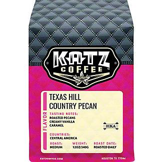 Katz Texas Hill Country Pecan Whole Bean Coffee, 12 OZ
