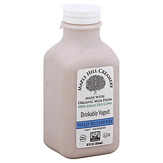 Maple Hill Blueberry Drinkable Yogurt, 12.00 oz