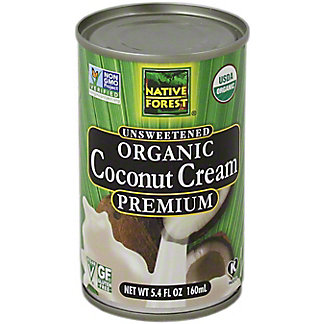 Native Forest Organic Coconut Cream,5.4 OZ