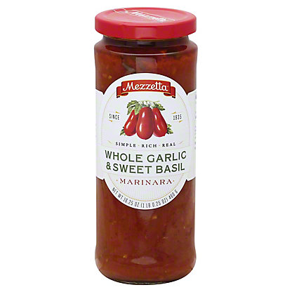 Mezzetta Whole Garlic & Sweet Basil Marinara,16.25 OZ