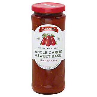 Mezzetta Whole Garlic & Sweet Basil Marinara,16.25 OZ