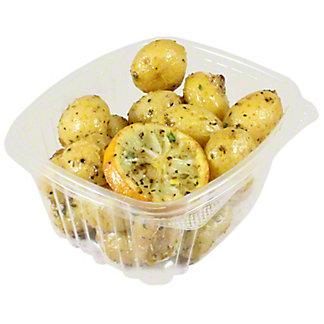 Central Market Greek Style Lemon Potatoes, LB