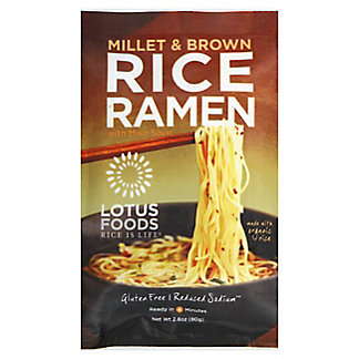 Lotus Foods Millet Brown Rice Ramen With Miso Soup, 2.80 oz