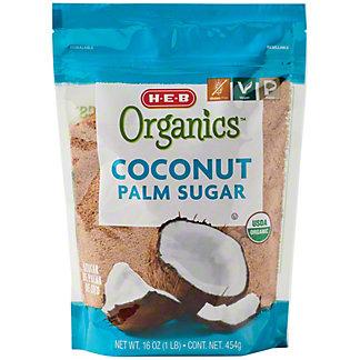 H-E-B Organics Coconut Sugar,16 OZ