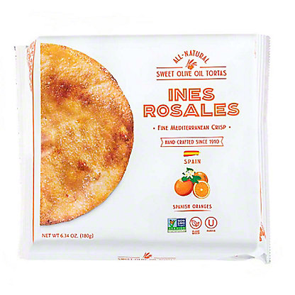 Ines Rosales Seville Orange Sweet Olive Oil Tortas,6.3 OZ