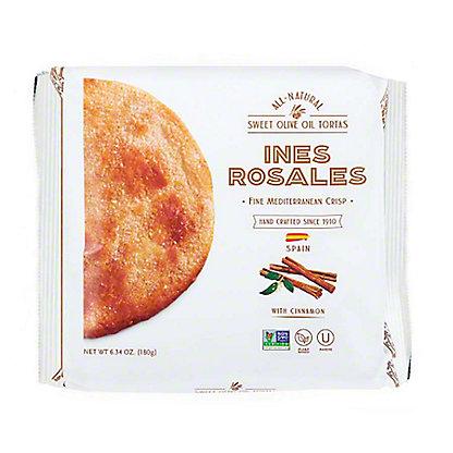 Ines Rosales Cinnamon Sweet Olive Oil Tortas,6.3 OZ