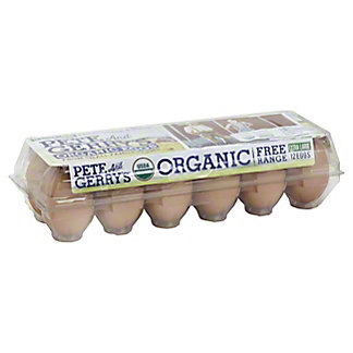 Pete and Gerrys Organic Extra Large Dozen, 12.00 ea