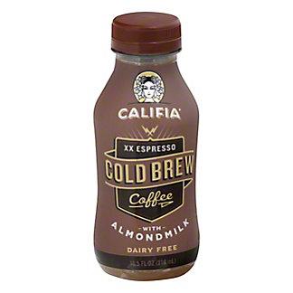 Califia Farms XX Espresso Iced Almond Milk Coffee,10.50 oz