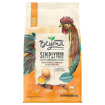 Purina Beyond Grain Free Chicken & Egg Cat Food, 3 lb