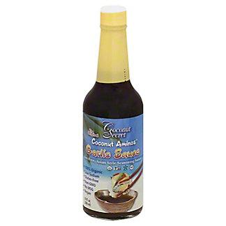 Coconut Secret Coconut Aminos Garlic Sauce, 10 oz