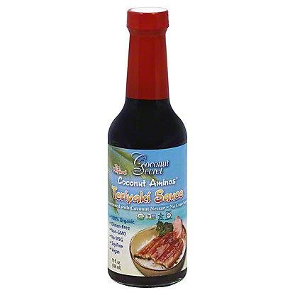 Coconut Secret Coconut Aminos Teriyaki Sauce, 10 oz
