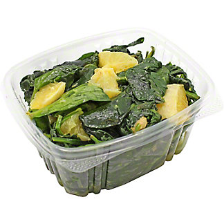 Central Market Spinach with Orange and Garlic, by lb