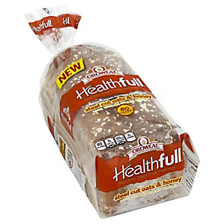 Oroweat Healthfull Steelcut Oats & Honey Bread,20 OZ
